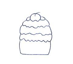 Risco Cupcake (Acrilex) Tags: