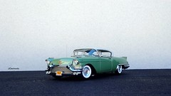 1957 Cadillac Eldorado Seville Hardtop (JCarnutz) Tags: seville cadillac eldorado 1957 biarritz diecast brougham franklinmint 124scale danburymint