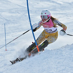 Katie FLECKENSTEIN of WMSC/BC Team takes 17th Place in the U16 Girls Slalom Race held on Whistler Mountain on April 6th, 2014. Photo by Scott Brammer - coastphoto.com - coastphoto.com