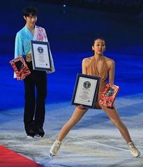 figure skating, Guinness World Records (yellowrotus) Tags: skating figure figureskating worldchampion maoasada yuzuruhanyu