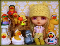 Blythe A Day May 8th, 2014  Rubber Ducky
