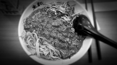 Noodles 撈麵 (anthonyyuen99) Tags: food photography photo store dish pics sauce good taiwan spoon pic lo mein meat kong departmentstore chopsticks noodles taipei noodle eats goodeats cheap department shin mitsukoshi photog 新光三越 lomein shinkongmitsukoshi
