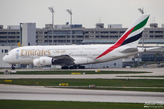 Emirates --- Airbus A380 --- A6-EDY (Drinu C) Tags: plane aircraft sony emirates airbus a380 muc dsc eddm hx100v a6edy adrianciliaphotography