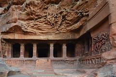 India - Karnataka - Badami Caves (Cave 1) - 3 (asienman) Tags: india architecture caves karnataka badami chalukyas vatapi asienmanphotography