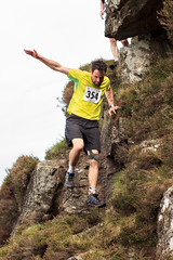 Slieve Donard Race 2014-6449 (cmcm789) Tags: county ireland sea sky irish mountain black mountains water grass stairs race forest canon newcastle landscape athletics lough dale hill may down running climbing land runners series hd northern fell mourne 2014 slieve mournes donard blackstairs slievedonard hillanddale