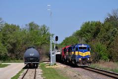 At the Grove (The Mastadon) Tags: road railroad chicago train illinois midwest rail railway trains transportation locomotive railroads chicagoland midwestern