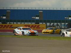 Gulf Racing Aston Martin V8 Vantage GTE (BenGPhotos) Tags: blue orange sports car yellow race european gulf corse ferrari racing mans le silverstone series af gt endurance v8 aston motorsport vantage elms gt3 gtc 2014 gte 458 martn
