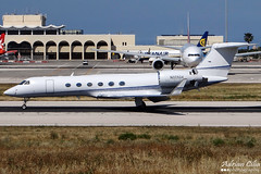 Private --- Gulfstream Aerospace G500 --- N223GA (Drinu C) Tags: plane private aircraft sony dsc gulfstream mla bizjet g500 privatejet lmml hx100v n223ga adrianciliaphotography