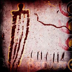 Sympathy for the Devil no.184 (dek dav) Tags: music abstract color art colors rock collage digital photoshop project for photo lyrics mixed media artist arty song stones album journal band 666 surreal manipulation cover indie devil beast deviant 365 concept songs rolling alternative sympathy the