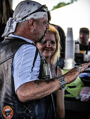 Love story 5 (angelnfreefall) Tags: motorcycles bikes tattoos cigars bikers custommotorcycles cycles streetparty drunkenirishmen custompaintjobs leesburgbikefest2014