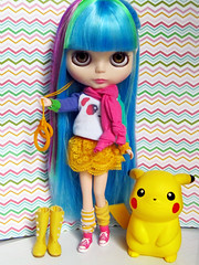 #1mêsdeblythe - 5 coisas amarelas