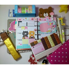 1663025_194535557423307_154908239_n (anastasiadewi12) Tags: bear chocolate diary journal stationery agenda planner filofax stickynotes decotape pocketfilofax pocketplanner filofaxlove pocketorganiser filofaxing