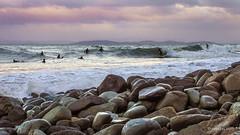 Seven Mile Point break - 21/23 (edgetas.com - tasview.com) Tags: water surf surfer wave australia tasmania hobart 61 sevenmilebeach nikond3200 pointbreak edgetas abcedge