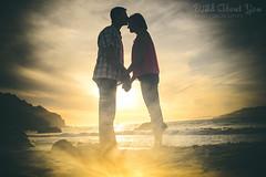 Katy & Paul01 (shboom) Tags: ocean sanfrancisco california sunset beach engagement goldengatebridge chinabeach
