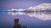 somewhere (pixellesley) Tags: ocean snow mountains ice norway reflections pier twilight arctic fjord troms magicunicornverybest magicunicornmasterpiece