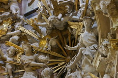 Unnamed angels (asma_elgamal) Tags: sun detail church gold shine iglesia ceiling christian angels christianity intricate