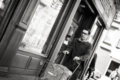 Mixed Baggage (TerryJohnston) Tags: street nyc newyorkcity portrait bw newyork black face noir dof bokeh candid streetphotography streetportrait canoneos5dmarkiii canon5dmarkiii 5dmarkiii