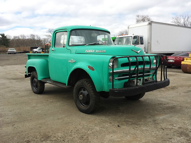 truck 4x4 1957 dodge d100 powerwagon