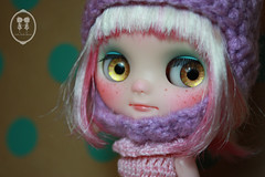 Custom Commission Middie Blythe Doll.