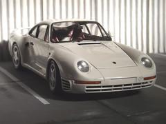 Porsche 959 (GarageOld Minis) Tags: white model sale 124 porsche kit tamiya 959 plastimodelismo