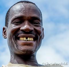 Toothy Smile (chrispenfold) Tags: africa rain river boat delta safari botswana punting mokoro okavango afrique maun