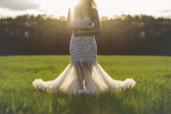 . (Andrew Saiz) Tags: trees sun love girl beautiful grass leaves set diamonds canon hair lens 50mm drew ab blond flare tulle gems