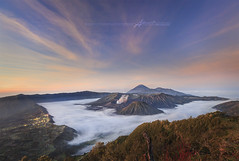 Taman Nasional Bromo Tengger Semeru (Albert Photo) Tags: morning nature indonesia landscape volcano java bromo mountbromo mtbromo mountainarea bromotenggersemerunationalpark mtbatok tamannasionalbromotenggersemeru mtsemeruvolcano