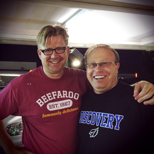 Wesley Fryer and Eric Langhorst (June 20 by Wesley Fryer, on Flickr