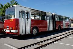 Ikarus 280.08 (1989) (The Adventurous Eye) Tags: bus long autobus 280 ikarus 28008 historický