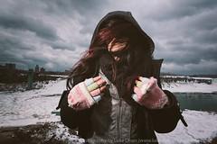 Escape to Niagara (LukeOlsen) Tags: winter snow ontario canada cold ice niagarafalls gloves americanfalls canadianside strobist 580exii lukeolsen pdxstrobist