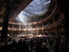 Inside the globe (flickrolf) Tags: light people london architecture globe open theatre arena 2014 event2014