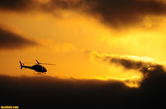 Helicopter883 (mcshots) Tags: ocean california sunset sea sky usa nature water fog clouds coast chopper cloudy stock flight helicopter socal mcshots southbay swells springtime marinelayer losangelescounty