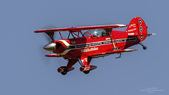 "Will Allen In His Pitts S-2B ""Flying Tenor"" N12QW (Terry Green) Tags: show nikon air aerobatics pitts s2b snohomishcountywashington d4s nikon600mmvr n12qw arlingtonwashingtonkawo willallenairshow 2014arlingtonwashingtonflyin"