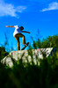 Fairbain (philipp.richter) Tags: park blue sky nature composition 35mm photography ramp dof skateboarding bowl ollie skate rats tranny troll 18 richter philipp avon stratford upon skateboarders steeze noseblunt