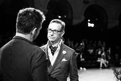 Paris Fashion Week, 2014. (Digital-Fragrance) Tags: leica portrait bw white black paris fashion 35mm photography photo noir nb system m ii m8 week et blanc asph nokton voigtlnder f12 2014