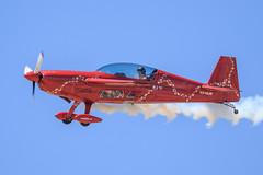 Jacquie Warda in her Extra 300L (Norman Graf) Tags: plane airplane aircraft airshow extra aerobatics davismonthanafb 300l jacquiewarda jacquiebairshows jacquiebaby theabingdonco n345jb 2014thunderlightningoverarizona