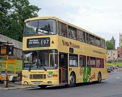 2 Cool 4 School (jep2510) Tags: york city uk england horses horse bus ex public buses volvo coach transport july saturday racing double company pullman shuttle service alexander races royale lothian decker olympian 197 bodied