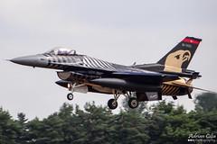 Turkey Air Force --- SoloTurk --- General Dynamic F-16C Night Falcon --- 91-0011 (Drinu C) Tags: night plane aircraft military sony f16 falcon dsc ffd fairford riat generaldynamics theroyalinternationalairtattoo egva 910011 turkeyairforce hx100v soloturk adrianciliaphotography