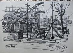 Amstelveen (NL) 1963 (streamer020nl) Tags: holland netherlands drawing nederland 1963 niederlande amstelveen zeichnung tekening symons schets viltstift sijmons bancras