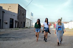Typical Video Girls (Brooke Adams Photos) Tags: girls abandoned girl outside three dallas video promo texas fort grunge warehouse worth typical fortworth typicalvideogirls