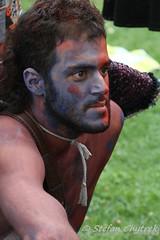 Sommerwerft 2014 - Bodypainting 18 (stefan.chytrek) Tags: performance bodypainting frankfurtammain antagon antagontheateraktion sommerwerft sommerwerft2014