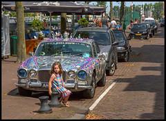 SHE FITS (ESOX LUCIUS) Tags: summer holland color art girl car taco fortress hellevoetsluis vesting