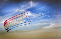 Red Arrows Sunderland air show 2014  uk (saleem shahid) Tags: