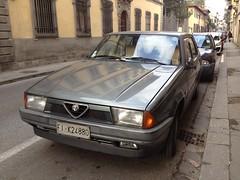 Alfa Romeo 75 1.6 (vignaccia76) Tags: alfa 1989 75 alfaromeo fik alfa75 alfaromeo75