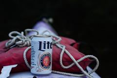 What a Girl Wants (Lake Effect) Tags: beer river flickr kayak rope lifejacket millerlite stjosephriver shotfromakayak utata:project=ip200