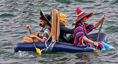 63+311: 'Donald Trump' in inflatable surprise appearance? (geemuses) Tags: 2017manlyinflatableboatrace donaldtrump mexican baotrace inflatables manly northernbeaches nsw australia water sea ocean