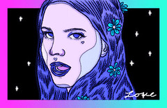 New trending GIF on Giphy (I AM THE VIDEOGRAPHER) Tags: ifttt giphy love space star drawing queen lana del rey stars alien first young portrait digital art galaxy firework wish wishes fan illustration puppy isaac piper gif back 1974