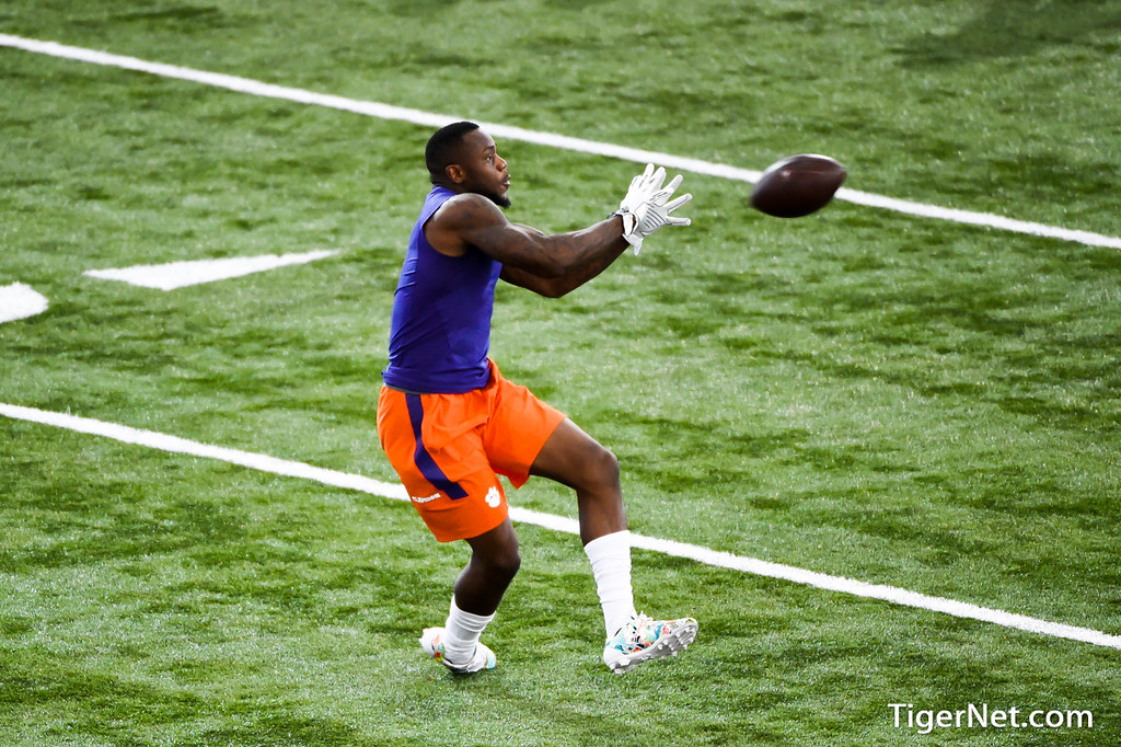 Clemson Photos: Artavis  Scott, 2017, Football