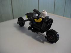 Szakal's Chopper (Śląski Hutas) Tags: lego moc bike motorcycle chopper greypuke mercenary