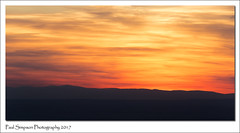 Welsh Mountain Sunset (Paul Simpson Photography) Tags: cheshire sunset nature redsky weather paulsimpsonphotography sonya77 welshmountains britain viewsofbritain cheshireplain march2017 imagesof imageof photosof photoof sunsetphotography